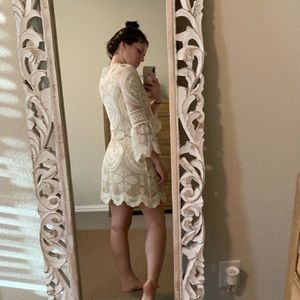 Jen's Pirate Booty Dresses - Jens Pirate Booty white mini dress!!